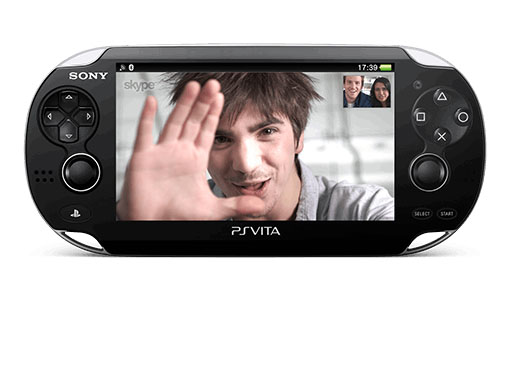Skype для PlayStation Vita